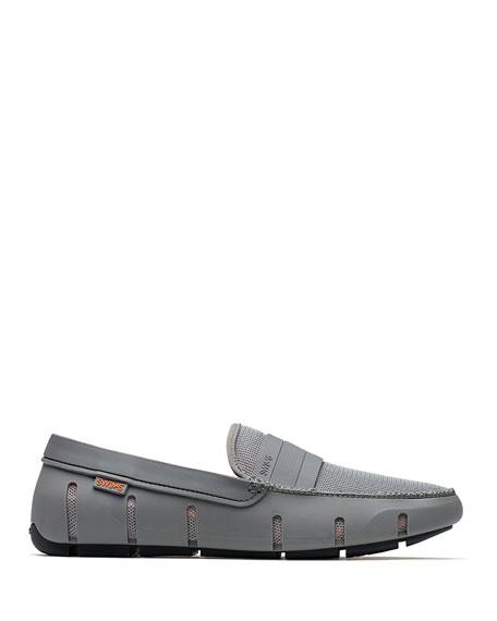 Stride Bands Slip-On Loafer, Gray