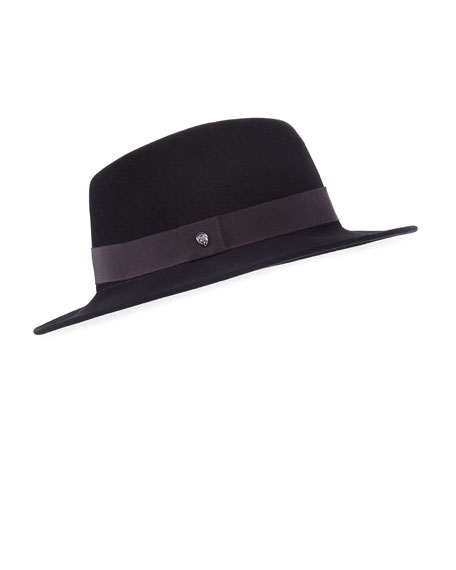 Kaminski Hats XY Lazaro Wool Felt Fedora Hat