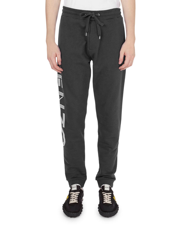 3aa2e703 Kenzo Logo-Print Jogger Pants   Neiman Marcus