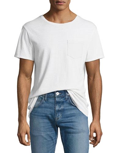 Crewneck Pocket T-Shirt
