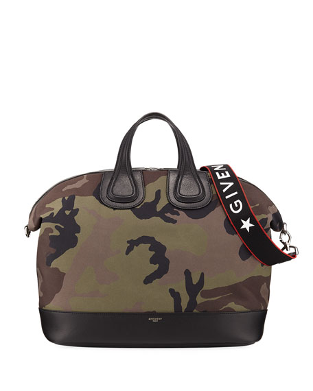 Givenchy Men's Camouflage Nightingale Bag and Matching Items