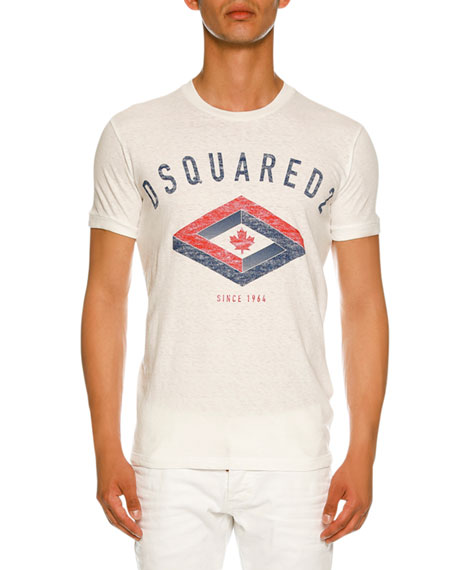Dsquared2 Diamond Logo Graphic T-Shirt