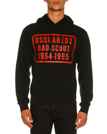 Dsquared2 Bad Scout Graphic Hoodie