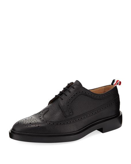 Classic Long Wing Brogue Shoe