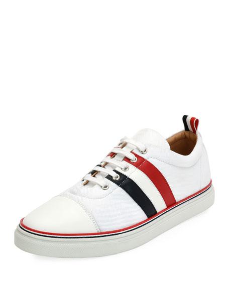 Thom Browne Cap-Toe Low-Top Training Sneaker