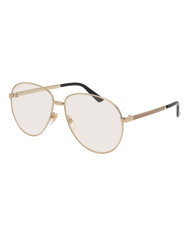 a30373683b9f Gucci Round Metal Sunglasses