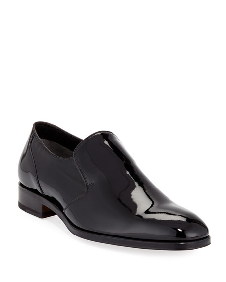 TOM FORD Slip-On Patent Leather Formal Loafer