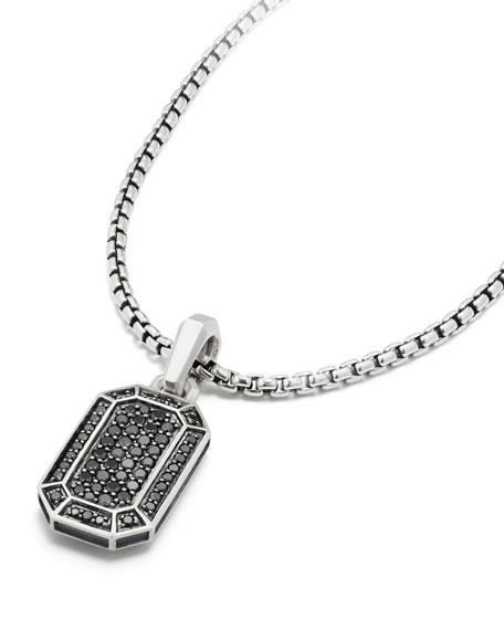 Men's Amulet Pavé Pendant Enhancer
