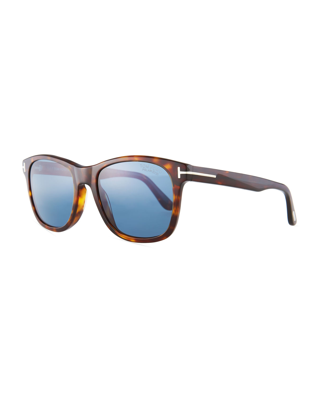61134eddf9 TOM FORD Eric Rectangular Havana Sunglasses