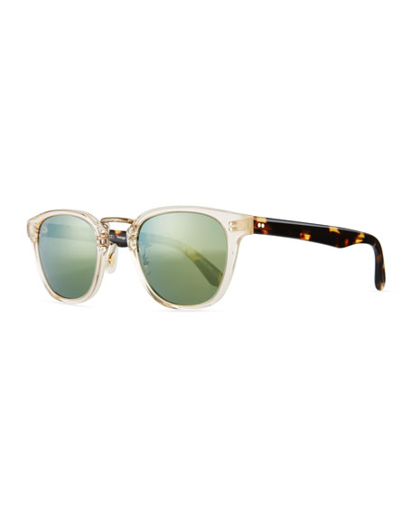 Oliver Peoples Lerner 30th Anniversary Sunglasses, Clear