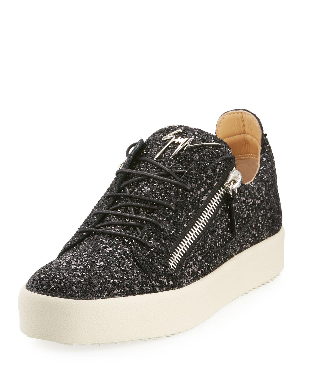Giuseppe Zanotti Men s Glitter Low-Top Sneakers  c9990d6cc68