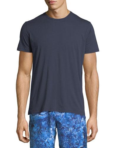 Riley Crewneck Jersey T-Shirt