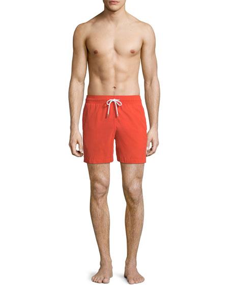 Aruba Classic-Fit Swim Trunks, Orange