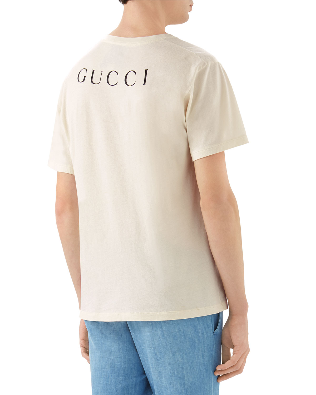70545230 Gucci Snow White Graphic T-Shirt | Neiman Marcus