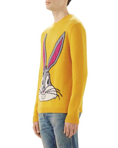 Bugs Bunny Intarsia Knit Sweater