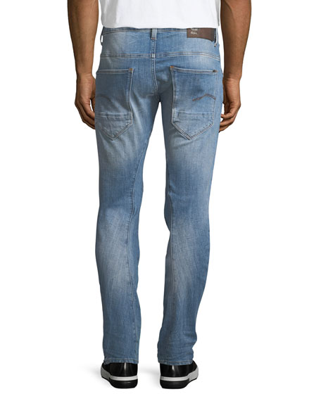 Arc 3D Extended-Size Slim Jeans - 36'' Inseam