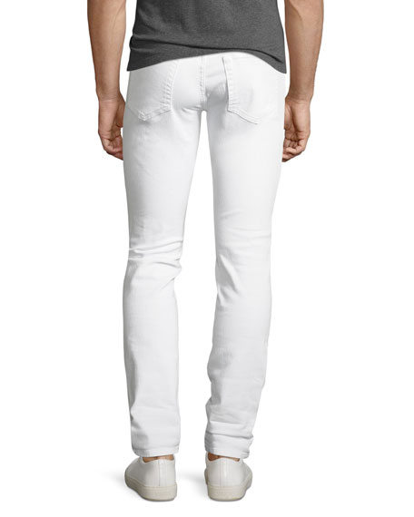 Image 3 of 5: Joe's Jeans Men's Brixton Slim-Straight Jeans, White