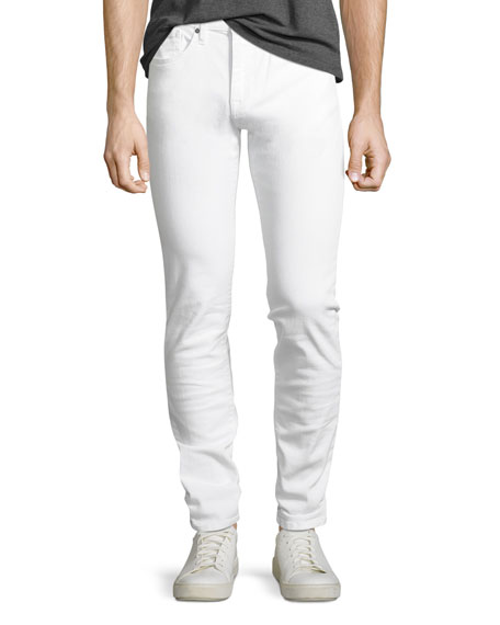 Image 1 of 5: Joe's Jeans Men's Brixton Slim-Straight Jeans, White
