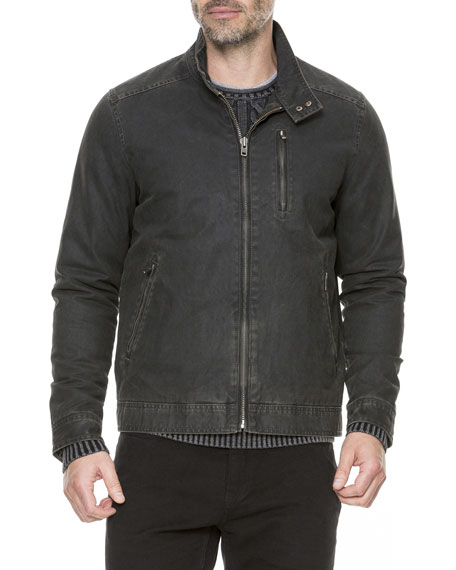 Image 3 of 4: Rodd & Gunn Jack Cotton-Blend Twill Jacket