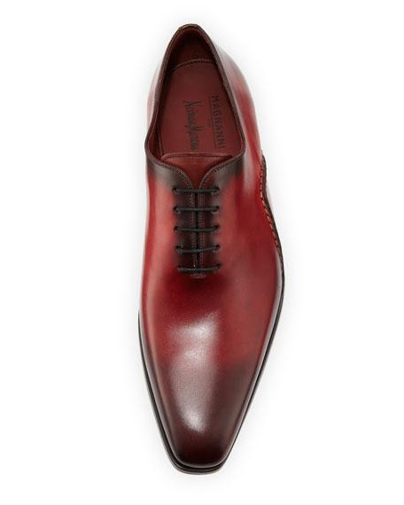 Men's Two-Tone Lace-Up Sole-Stitch Dress Shoe