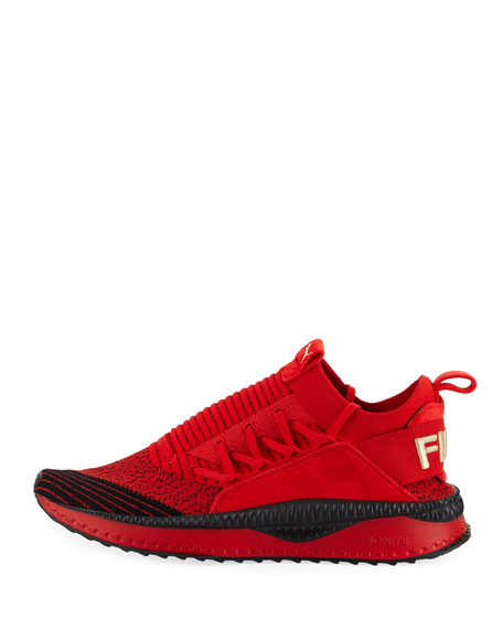 FUBU Men's TSUGI Two-Tone Knit Sneakers