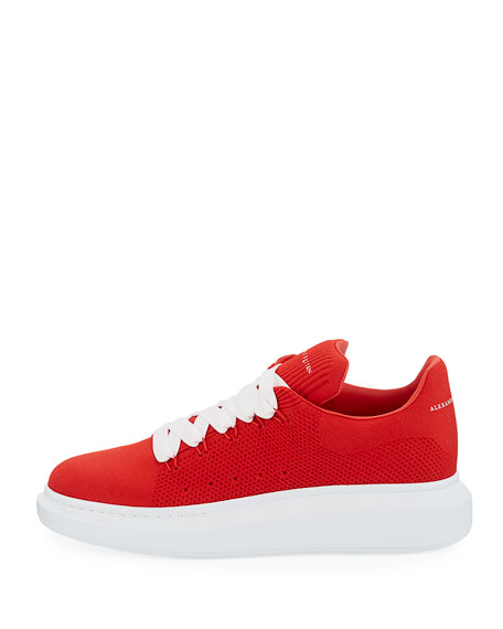 Men's Knitted Oversized Low-Top Sneakers
