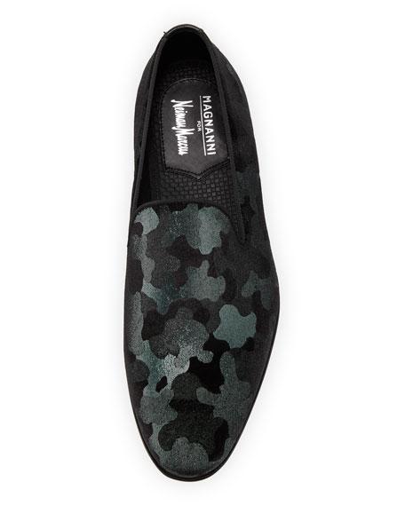 Men's Camo Velvet Formal Loafer
