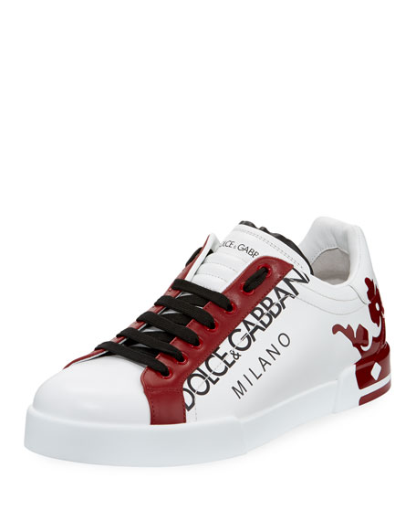 Men's Portofino Crown Low-Top Sneakers