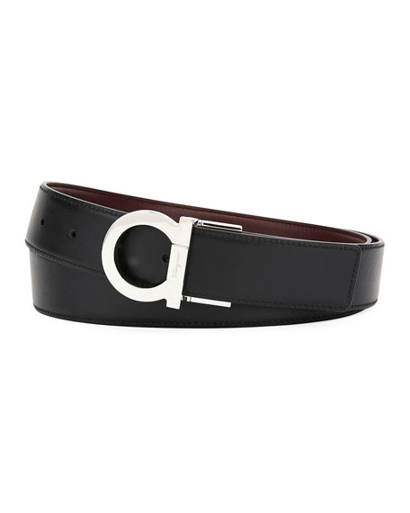Men's Gancio Reversible Leather Belt