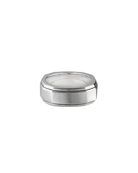 David Yurman Men's 9mm Deco Band Ring