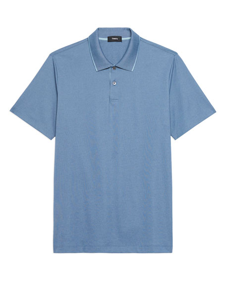 Image 5 of 5: Theory Standard Pique Polo Shirt