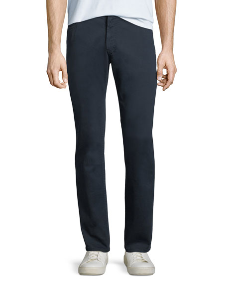 Image 1 of 4: 5-Pocket Slim-Leg Twill Pants