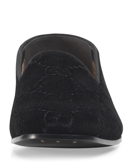 GG Velvet Loafer