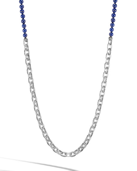 John Hardy Men's Classic Chain Link Necklace w/