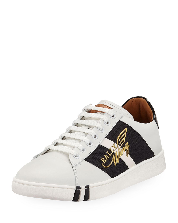 Bally Men's Wiley Wing Low-Top Sneakers