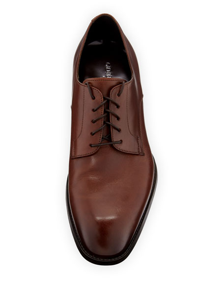 Image 2 of 4: Giorgio Armani  Men's Leather Derby Shoes