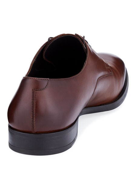 Image 4 of 4: Giorgio Armani  Men's Leather Derby Shoes