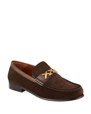 16e3919ebaa Men s Loafers   Slip-On Shoes at Neiman Marcus