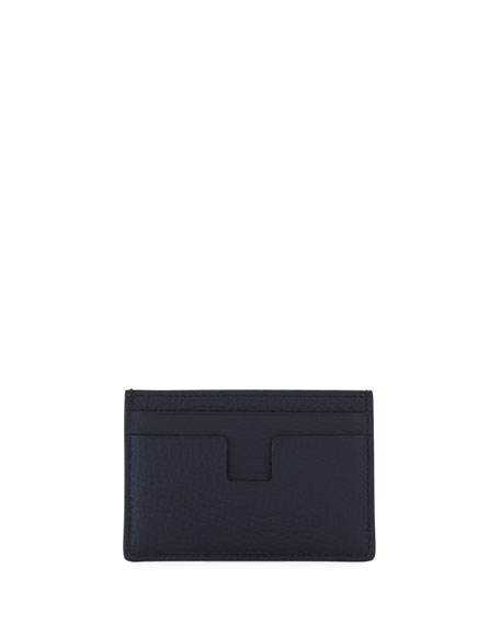Men's Calf Leather Card Holder