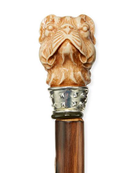 Pug Dog Wooden Shoe Horn