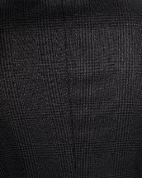 TOM FORD Men's O'Connor Check Stretch-Wool Two-Piece Suit