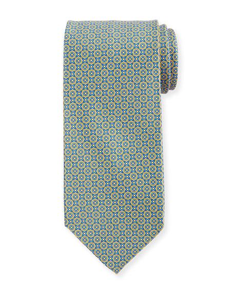 Stefano Ricci Moroccan Tile Silk Tie