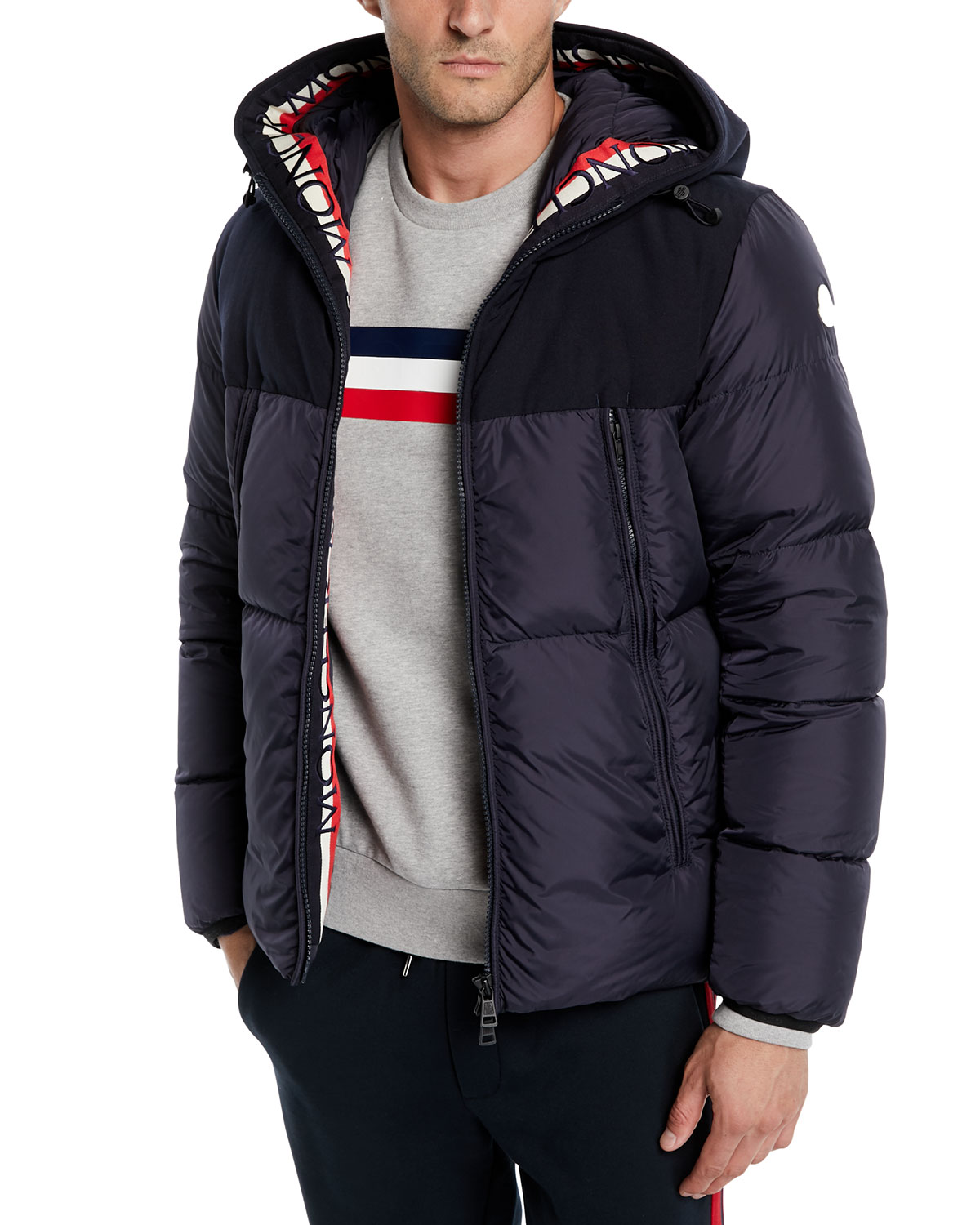 52b69ddab668 Moncler Men s Montclar Hooded Puffer Jacket