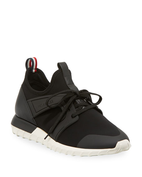 Men's Emilien Knit & Leather Training Sneakers