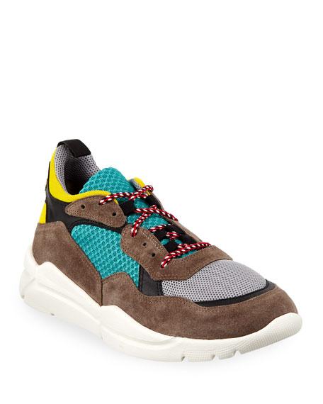 Men's Calum Colorblock Dad Sneakers