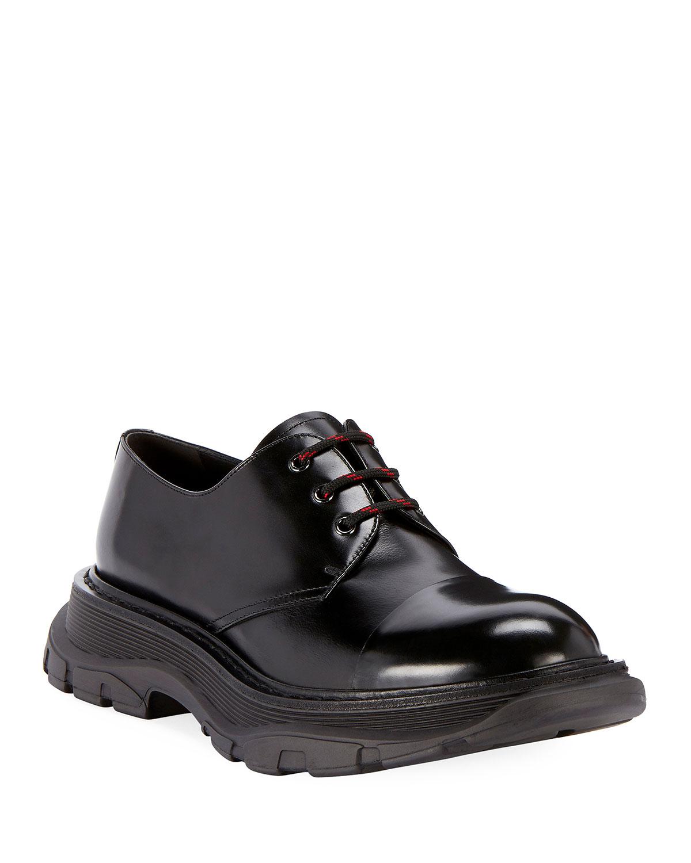 Alexander McQueen Men's Scarpa Leather