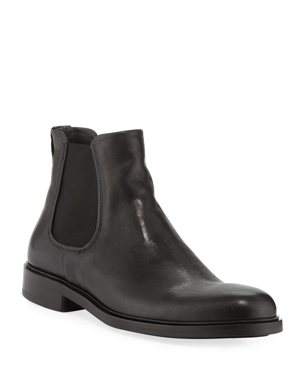 fe694e57d Vince Men's Burroughs Leather Chelsea Boots | Neiman Marcus