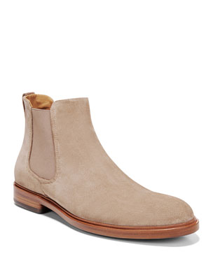 198323b5346bf5 Vince Men s Burroughs Suede Chelsea Boot