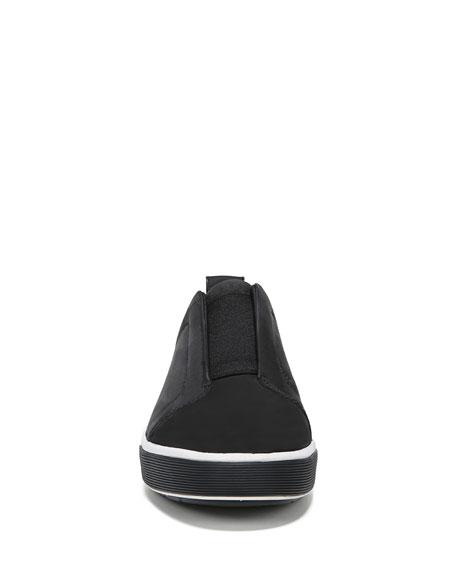 Vince Men's Ranger Suede/Canvas Slip-On Low-Top Sneakers