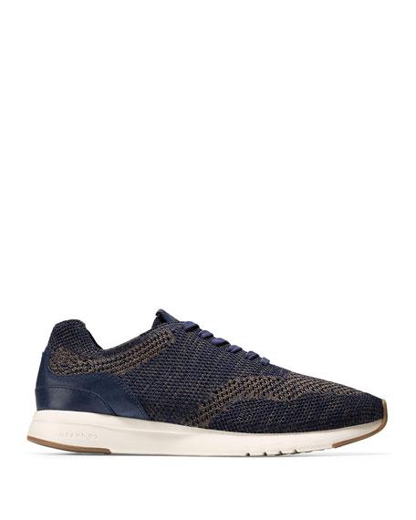 Men's GrandPro Knit Runner Sneakers, Blue